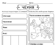 Кратко о Чехии