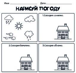 Нарисуй погоду