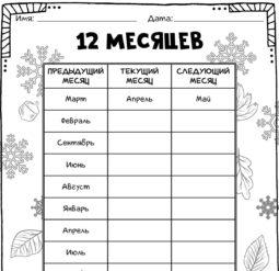 12 Месяцев