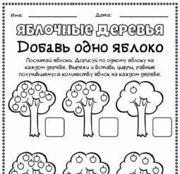 Яблочные деревья