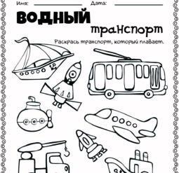 Виды транспорта 3