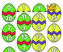 Пасхальный состав числа до 20