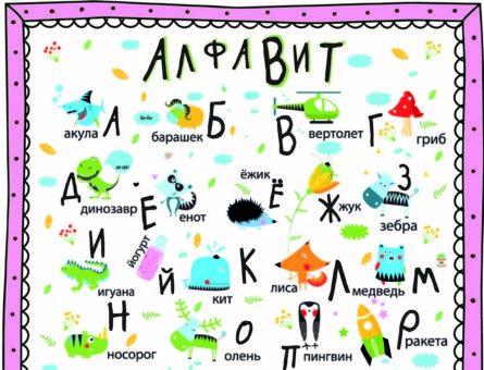 Алфавит - плакат