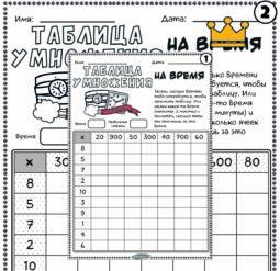 Таблица умножения - челлендж