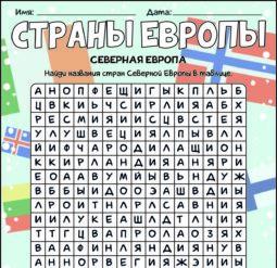 Страны Северной Европы