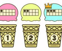 Найди нужный стаканчик для мороженого