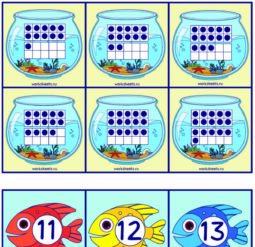 Рыбалка - моментальный счет. Карточки