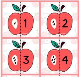 Яблочные пазлы