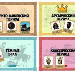 Хронология Древняя Греция - сортировка по периодам