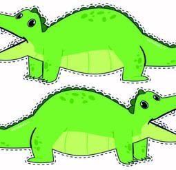 Крокодилы больше-меньше