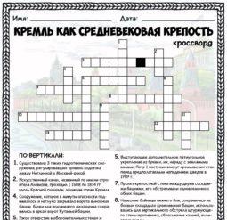 Кремль как средневековая крепость