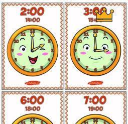 Веселые часы - плакаты
