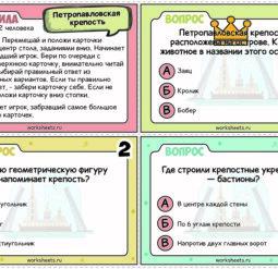 Петропавловская крепость - викторина