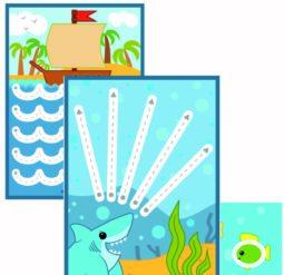 Подводный мир - обводилки для малышей