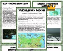 Рассказы о заповедниках России