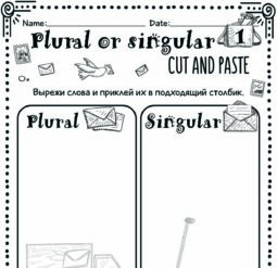 Plural or singular - cut and paste 1