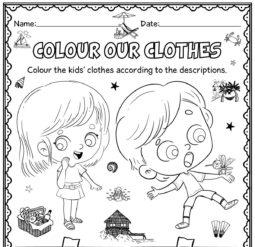 Colour our clothes
