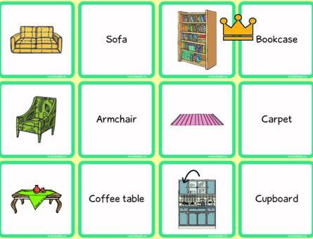 Furniture - matching cards