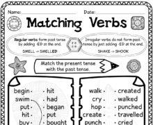 Matching verbs