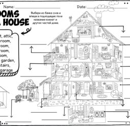 Rooms of a house
