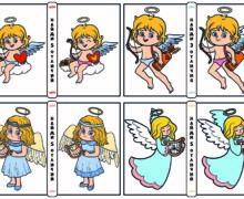Найди отличия - Ангелочки