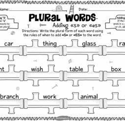 Plural words 1