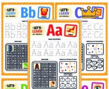 Давай учить английский алфавит